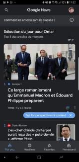Google Actualités news 2