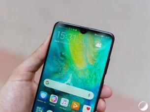 Huawei Mate 20 encoche