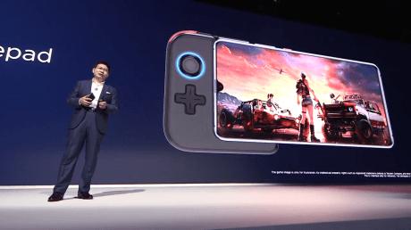 Huawei Mate 20 X gamepad