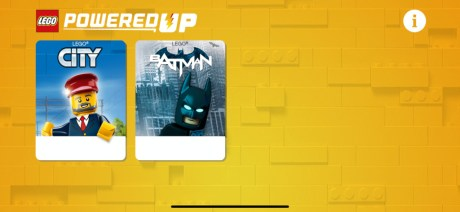 Test Lego DC COMICS Super Heroes Batmobile radiocommandée capture apps generale poweredup
