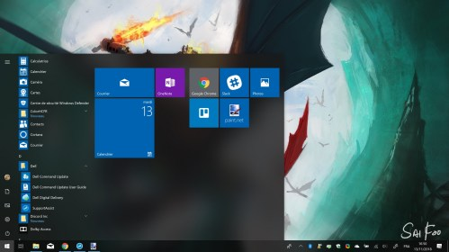 Dell XPS 15 Windows 10 capture