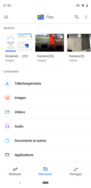 Google Files UI material theming (4)