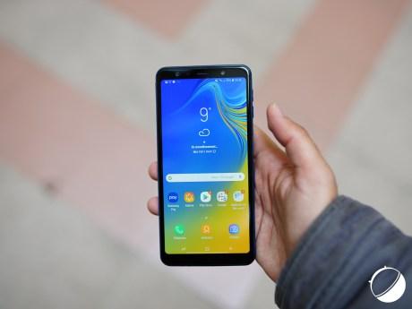 Samsung Galaxy A7 (2018) face