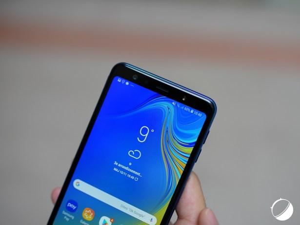 Samsung Galaxy A7 (2018) haut