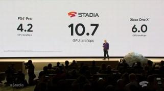 Google Stadia comparatif
