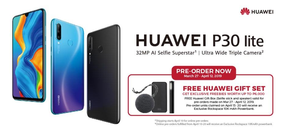 Huawei P30 Lite préco