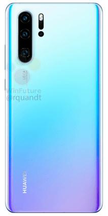 Huawei P30 Pro bleu clair