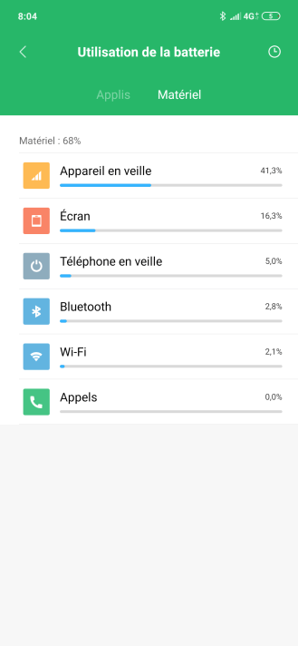 Redmi Note 7 MIUI 10 Batterie (3)