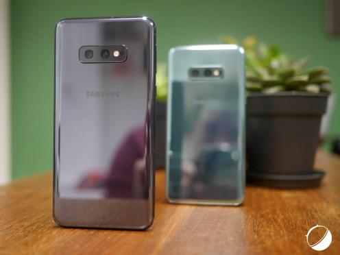 Samsung Galaxy S10e coloris