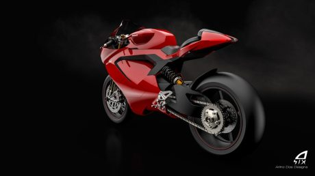 Ducati-Electric-Superbike-Based-On-Panigale-Rendered-swingarm
