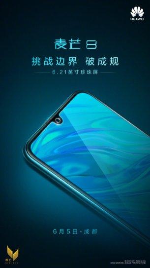 Huawei Mate 30 Lite encoche