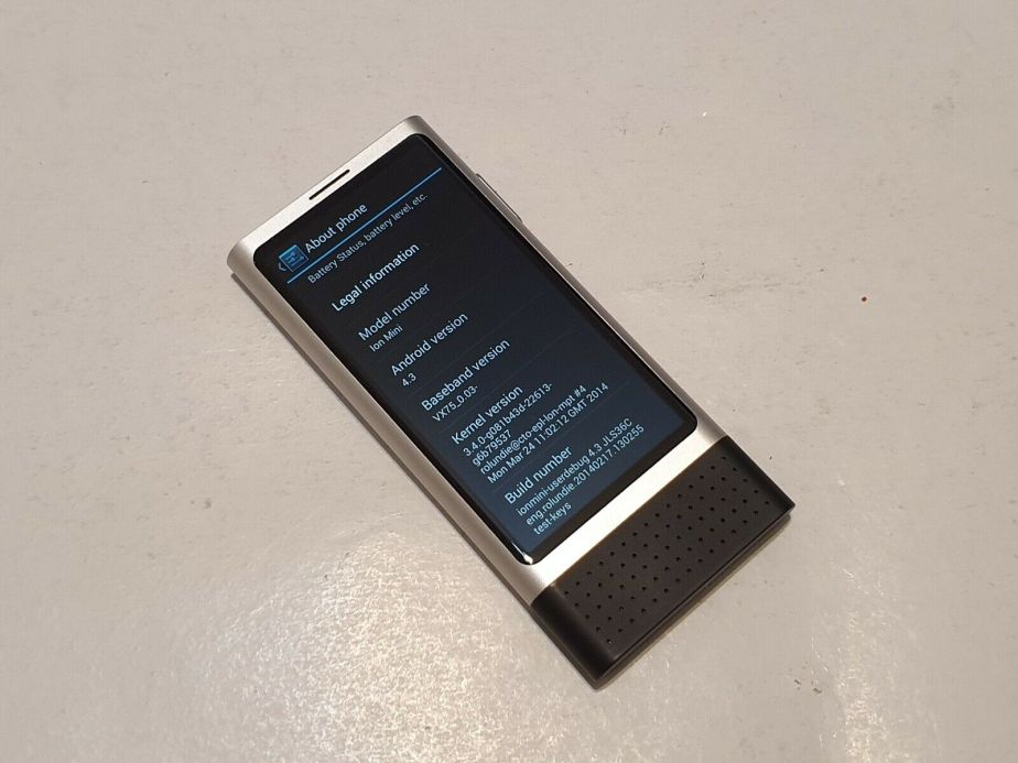 Nokia Ion Mini about