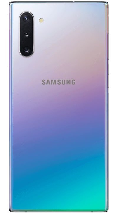 Samsung Galaxy Note 10 bleu d