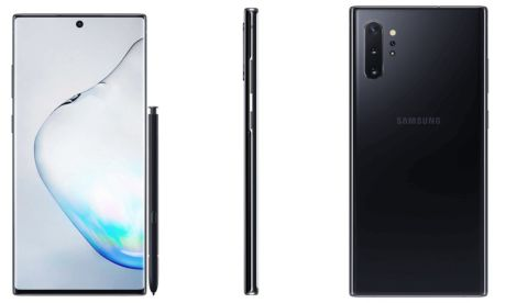 Samsung Galaxy Note 10 Plus noir