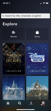 Disney Plus Android exp