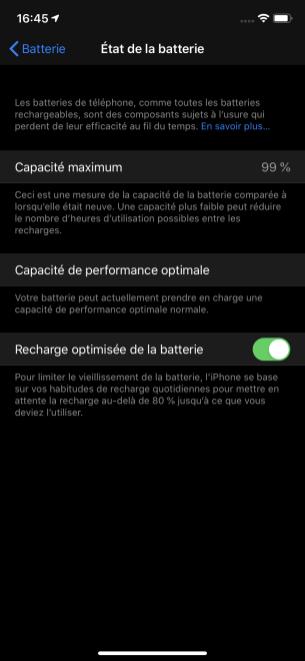 Recharge optimisée batterie 3