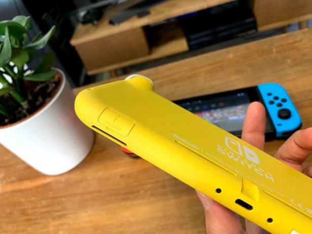 Nintendo Swtich Lite microSD