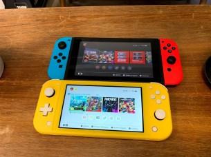 Nintendo Swtich Lite vs Nintendo Switch
