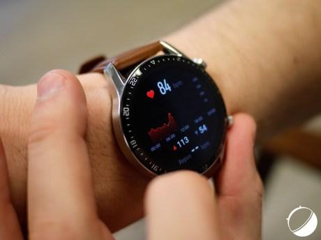 L'analyse du rythme cardiaque sur la Huawei Watch GT2