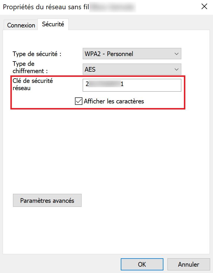 retrouver mot de passe wi-fi windows 5