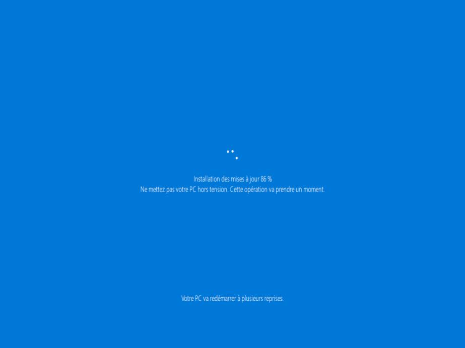 Windows 7 vers windows 10 9