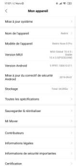 Xiaomi MIUI Redmi Note 8 UI (2)