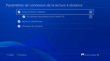 Lecture a distance ps4 3
