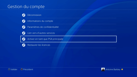 Lecture a distance ps4 5