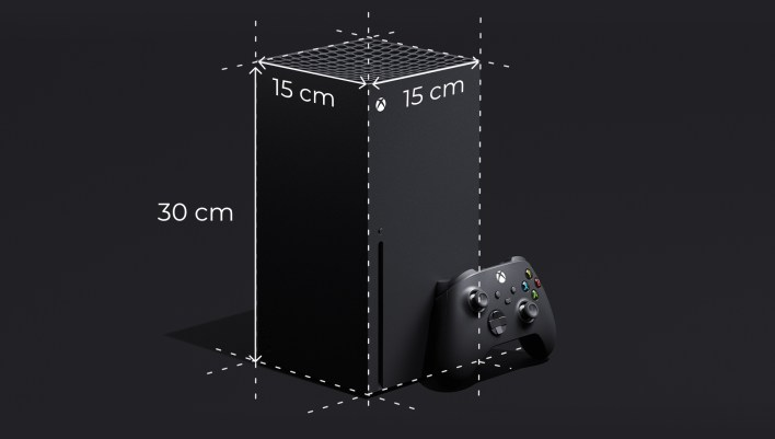 Dimensions of Xbox Series X are 15 x 15 x 30 cm. | NeoGAF