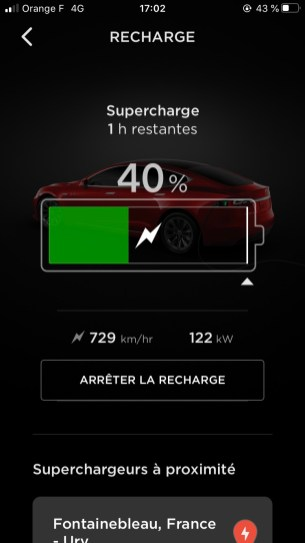 Application Tesla