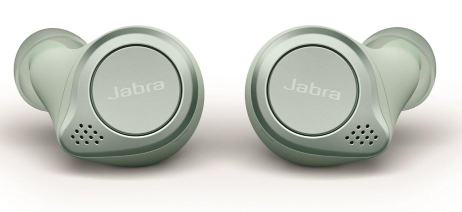 Jabra Elite Active 75t Mint_earbuds set down LB