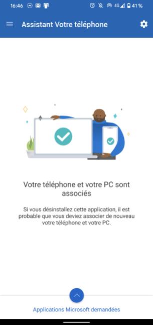 Microsoft votre téléphone 10