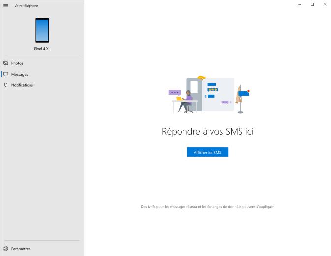 Microsoft votre téléphone 9
