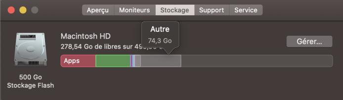 Libérer espace Mac 2