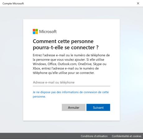 Nouvel utilisateur Windows 3