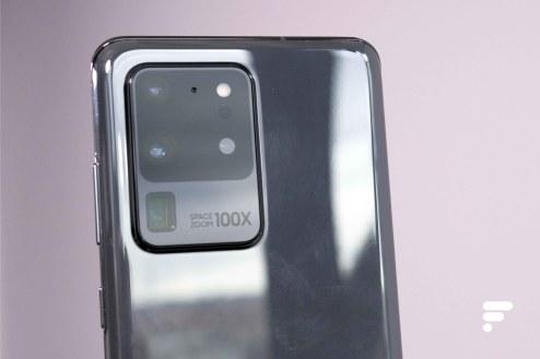 Samsung Galaxy S20 Ultra apn zoom x100 close up