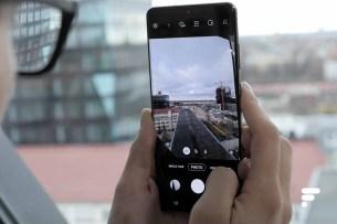 Samsung Galaxy S20 Ultra prise de vue