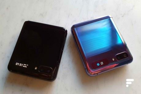 Samsung Galaxy Z Flip petit écran coloris