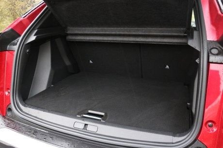 Coffre Peugeot e-2008