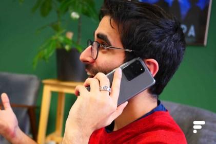Samsung Galaxy S20 Ultra appel