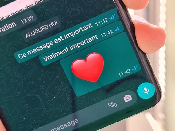 Les messages sur WhatsApp ne pourront désormais plus être transférés à une dizaine de discussions en même temps.