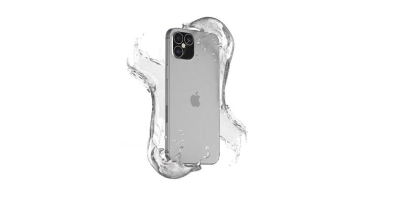 Le dos de l'iPhone 12 Pro