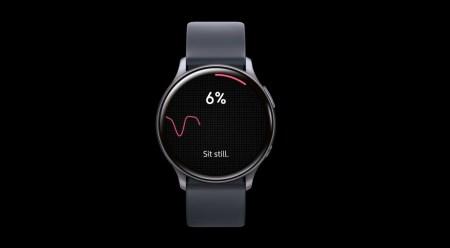 Samsung proposera bientôt un suivi de votre pression artérielle grâce à ses montres connectées. // Source : Samsung via YouTube