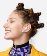 Huawei FreeBuds 3i portés // Source : Huawei