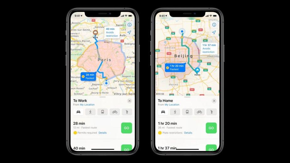 Apple Plans à la WWDC 2020