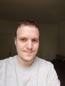 Photo selfie du Sony Xperia 1 II