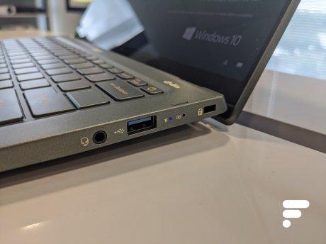 Acer Swift 5 Prise en main 2020 (6)