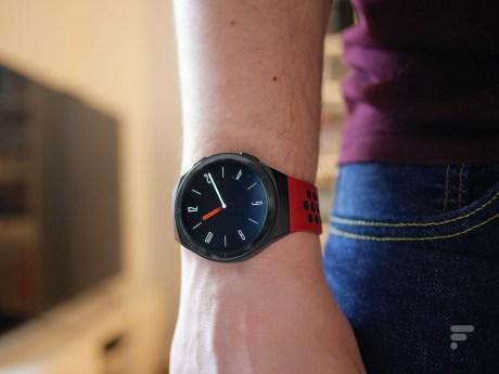 La Huawei Watch GT 2e avec cadran de veille