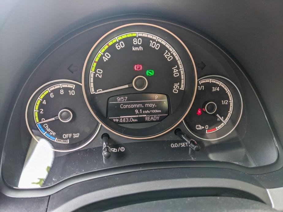 Une consommation mini de 9.1 kWh/100 km