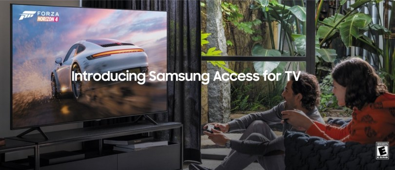 samsung access tv